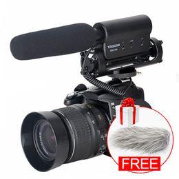 2019 интервью с камерой микрофона Ulanzi Оригинал TAKSTAR SGC-598 фотография интервью дробовик микрофон микрофон для Nikon Canon DSLR камеры для Vloggers / Видеомакер дешево интервью с камерой микрофона