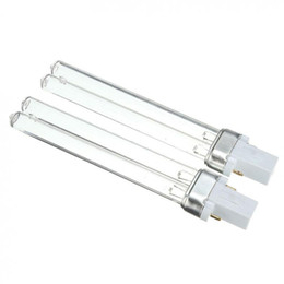 Wholesale air water purification - UV-9W Germicidal Lamp UV-C 253.7nm 254nm Water Air Disinfection Purification Sterilizer 9W UVC H-Shape Tube Ultraviolet Lamps