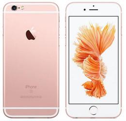 fabbrica di iphone di apple Sconti Originale Apple iPhone 6S con Touch ID Dual Core da 16 GB / 64 GB / 128 GB IOS 11 da 4,7 pollici 12MP rinnovato di fabbrica Telefono sbloccato