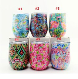 Wholesale Clamp Wall - 9oz Egg Cup Wine Glass Stainless steel kids tumblers Double Wall Vacuum Insulated Stemless Mug with Lid New Goods
