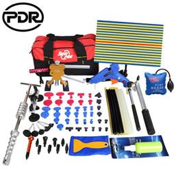 Outils de PDR Kit Kit de réparation de voiture Kit de retrait de dent sans peinture Outil de réparation de dent automatique pour supprimer Dents Puller Glue Tabs Tool Bag ? partir de fabricateur