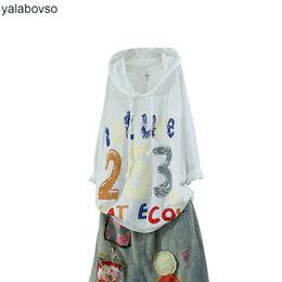camiseta de las mujeres de bambú Rebajas Hip hop de algodón de algodón de verano de manga corta camisetas de las mujeres sueltas o cuello impresión de la palabra remiendo tops más el tamaño de camisetas a74 ss3362 z20