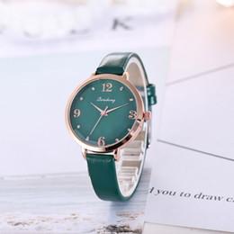 reloj de pulsera corea Rebajas Sloggi 2018 señoras del estilo de Corea reloj casual mujeres reloj de cuarzo de cristal prismático relogio masculino muñeca mujeres reloj-mujer