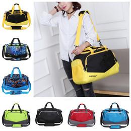 48fae74635 Unisex UA Duffle Bag Travel Handbag Under Waterproof Nylon Shoulder Tote  Bags Large Capacity Handbags Outdoor Sports Bag Luggage Storage New