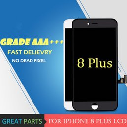 Wholesale Mobile Lcd Touch Screen - Grade AAA Top Quanlity LCD For iPhone 8 Plus LCD Display Mobile Phone Touch Screen Digitizer Assembly Send DHL free of charge