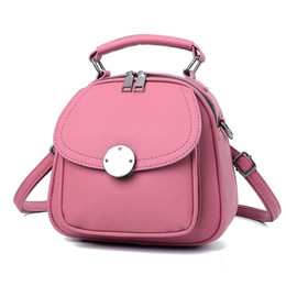 2021 piccoli zaini Ybyt Brand 2017 Nuovo stile preppy di stile Lychee Pattern Donne Zaino Multifunzione Ladies Satchel Small Bags Student School Backpacks