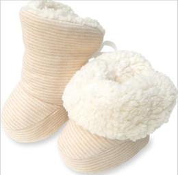 Chaussures garçons ans en Ligne-infantile chaud hiver coton chaussures bambin garçons filles chaussures chaussures polaire nouveau-né bottes bébé First Walkers chaussure pour 0-1 ans