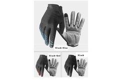 Wholesale Long Waterproof Gloves - A pair Cycling gloves, all fingers warm gloves, long fingers men and women waterproof riding gear 91039 Breathable Version
