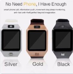 цена мобильного телефона Скидка Цена со скидкой DZ09 Смарт-часы Wrisbrand Android Смарт-SIM Интеллектуальные часы мобильного телефона могут записывать состояние сна Смарт-часы