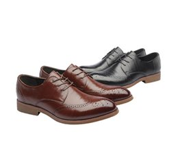 Wholesale korean oxford shoes - Spring new business shoes Bullock Korean tide pointed leather men's dress shoes men's shoes