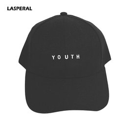 3f693dd8b LASPERAL Letter Printed Baseball Caps For Women Men YOUTH Snapback Caps Hip  Hop Flat Hats Fashion Dropshipping