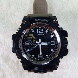 Wholesale Cheap Boys Christmas Gifts - 2018 New Fashion Mens G Style Shock Watches G Military Digital Clock Chinese Supplier Wholesale Sport Wristwatches Boys Cheap Gift Clock