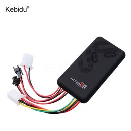 Wholesale gsm car alarm systems - sikeo GT06 Car GPS Tracker SMS GSM GPRS Vehicle Online Tracking System Monitor Remote Control Alarm for Motorcycle Car Locator
