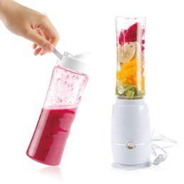 Wholesale Mini Drink Mixer - 1pc Electric Juicer Portable Mini Fruit Juice Mixer Drink Bottle Smoothie Maker Juice Blender Kitchen Tools Eu Plug