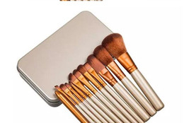 Wholesale Make Naked - Naked 3 Professional 12 PCS Makeup brush Cosmetic Facial Make-up Brush Tools Set free shipping