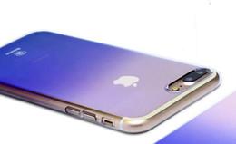 Baseus Pour l'iPhone 7 8 cas, placage de luxe bleu Ray Light boîtier en plastique dur pour iPhone 7 Plus / 8 Plus cas ultra mince couverture ? partir de fabricateur