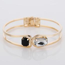 2019 braceletes indianos do dedo Moda Feminina Pulseira cor de ouro Elegante Jóias Moda Bud Pulseiras De Cristal Pulseiras Presentes de Natal Para As Mulheres B004