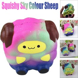 Wholesale Dropshipping Toys - Dropshipping Mini Soft Silicone Squishy Sheep Cartoon Squishy Slow Rising Squeeze Stress Reliever Toy Phone Straps Ballchains
