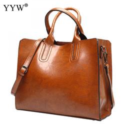626bdcebde0d1 YYW Leder Große Handtaschen Große Frauen Casual Taschen Hohe Qualität  Koffer Tote Spanische Marke Umhängetasche Damen Große Bolsos spanische  handtaschen ...