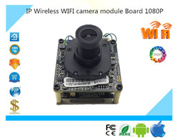 Wholesale mini sd card 32g - IP Wireless WIFI camera module Board 1080P 1920*1080 Support 32G Mini SD Card Two-Way Audio IRC Alarm P2P Survillance