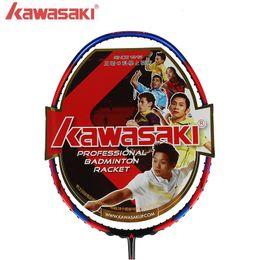 Wholesale Racquet Stringing - Only 73g Kawasaki 6U professional Badminton Racket Super light 580 5800 680 high quality carbon fiber Racquet with string