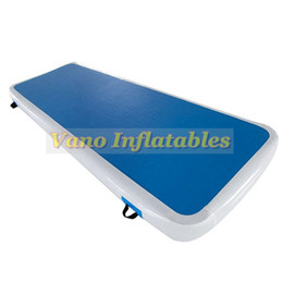 Wholesale Mat Tracks - Gymnastics Air Track Airtrack Mat Price Inflatable Tumble Mats Cheerleading Landing Gym Track 3x0.9x0.1m with Pump Free Shipping