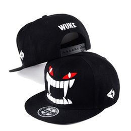 Rushed Gorra Gorras Neymar Hot Big Teeth Berretto da baseball coreano  Chaoping Hip-Hop Street Dance Skateboard Cappelli all ingrosso degli uomini 388fa0401324