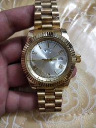 Wholesale double dial watches - 2018 relogio masculino mens watches Luxury dress designer fashion Black Dial Calendar gold Bracelet Folding Clasp double calendar couples