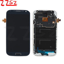 Wholesale Lcd S4 Black - Original For Samsung Galaxy S4 i9500 i9505 I545 I337 M919 L720 Lcd Digitizer Displaiy Screen Assembly black white Free Shipping