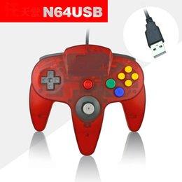 Wholesale Nintendo N64 - New Long wored Handle Controller games Pad Game Joystick System for Nintendo 64 N64 10 pcs N64