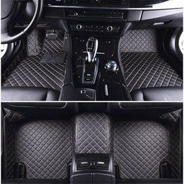 accessories camry Promo Codes - Custom Car Floor Mats for Toyota Crown Reiz Camry Corolla Corolla EX Levin Vios Yaris l Auto Floor Mats Accessories 3D Car Mats Floor Mat