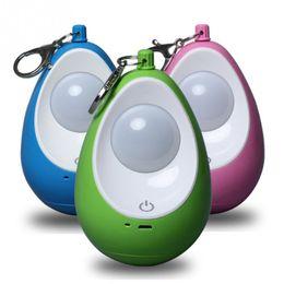 La goccia d'acqua ha portato le luci di notte online-3 Regolazione dell'ingranaggio 1W 5V Cute Water drop Carica USB Luci da campeggio esterne Zanzariere a sospensione Luci a LED per la notte