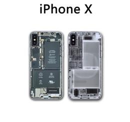 Utilisez Creative pour ouvrir votre téléphone pour Iphone X Phone Protecteurs de peau 1 PC PVC X Ray Iphone Stickers meilleurs cadeaux pour un ami ? partir de fabricateur
