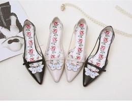 Bout pointu Cristal Papillon Décor Talons Hauts Strange Style Talon Femmes Chaussures Imprimer Semelle Fleur Sandales Rose Sole Femmes Pompes ? partir de fabricateur