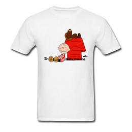 7cd4c9af4 Camiseta Kawaii Karlitos Marrom Eta Harrotxu Camiseta Homens Tshirt 100%  Algodão Top Mais Novo Personalizado Roupas Branco Dos Desenhos Animados Tee
