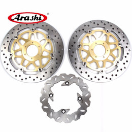 New Front Pair Brake Rotors Honda TRX 250 EX sportrax 2001-2007