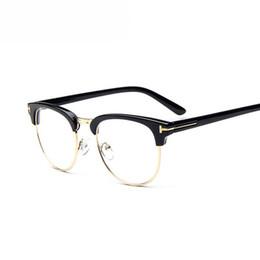 9aaedf5e89 Brand Design Eyewear Frames eye glasses frames for Women Men Male Eyeglasses  Mirror Ladies Eyeglass Plain spectacle frame