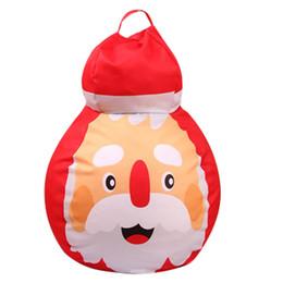 2018 Nuovo 26inch Christmas Storage Beanbag Bambini Organizer Giocattoli Hobbies Santa Snowman Api Grandi occhi da