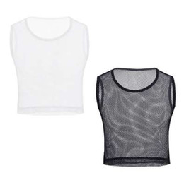 Смотреть сквозь стиль рубашек онлайн-iEFiEL Мужская прозрачная сетчатая сетчатая мышечная футболка Slim Fit с короткими рукавами Футболка Wetlook