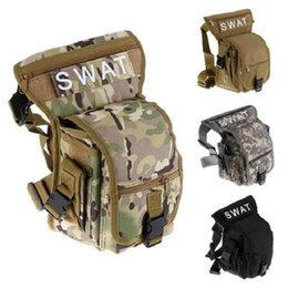 waterproof hunting bag Coupons - Wholesale 2017 Multifunctional Swat Saist Pack Leg Bag Tactical Outdoor Sports Ride Waterproof Military Hunting Free Shipping