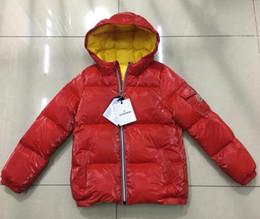 cappotti invernali del grande ragazzo Sconti Nuovo arrivo ragazzi di marca  di lusso invernale piumino per e90ae8476a2