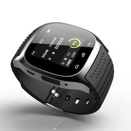 Canada Montre intelligente Smartwatch M26 Bluetooth avec LED Podomètre de lecteur de musique Alitmeter pour Apple IOS Android Smart Phone Offre