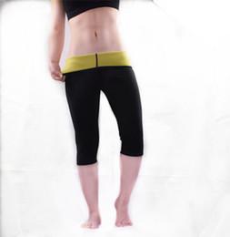 347a886075 Hot Shapers Pants Neoprene Slimming Body Shaper Fitness Sweat Sauna Pants  waist trainer modeling straps slimming shaprwear