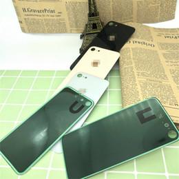 parties de mûre Promotion Boîtier en verre trempé de haute qualité pour iPhone 8 8 G plus couverture arrière en verre trempé sans remplacement de cadre
