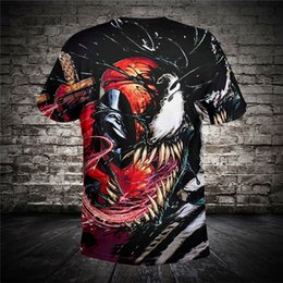 560d06656c07d New Design For Men s Women s T shirt Summer 3D Printing Venom High Quality  Funny Tees Shirts Tops Plus Size 6XL Drop Shipping