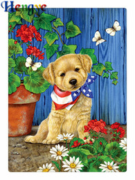 Dog /& Rose 5D Diamond Painting Animals Flowers Embroidery Cross Stitch Kit UK