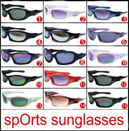 недорогие летние солнцезащитные очки Скидка 2018 новый летний мужчины пляж солнцезащитные очки стеклянные линзы велоспорт очки женщины велосипед стекла вождения солнцезащитные очки 15 цветов дешевые цена бесплатная доставка
