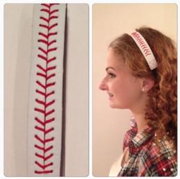 бейсбольная кожная сшивка Скидка Мода софтбол Бейсбол кожаные повязки шить шов быстрый шаг волос эластичный Спорт повязки 50 шт./лот