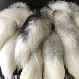 2019 portachiavi in pelliccia bianca 10pcs 20