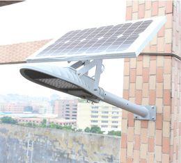 Wholesale solar led road light - 30W 40W Dolphin LED solar street light garden lamp Wall Lights New rural private solar street light road square garden outdoor lighting